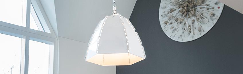Witte hanglampen