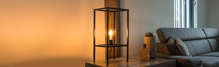 Tafellampen van  metaal