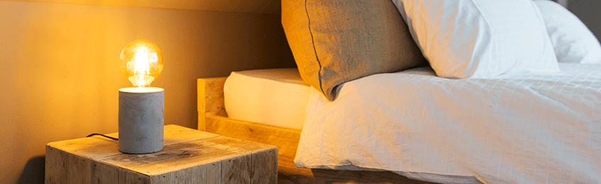 Lamp nachtkastje
