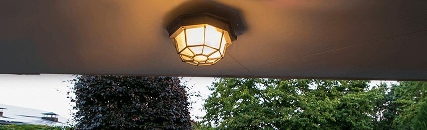 Plafondlampen buiten