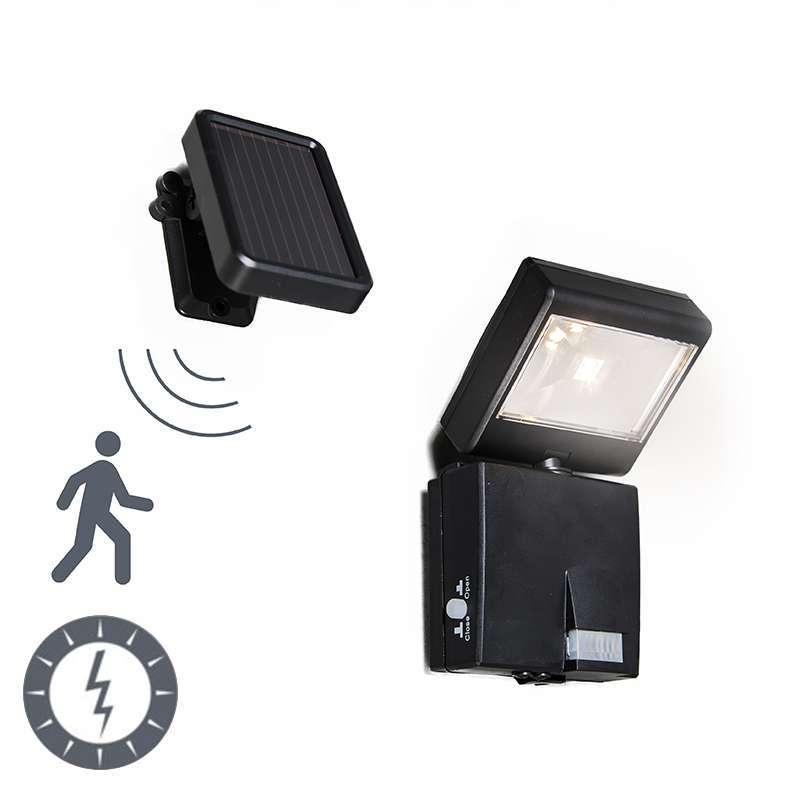 Buitenlamp Dark straler LED met bewegingsmelder op zonne-energie ...