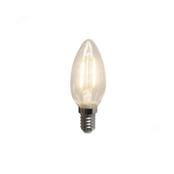 LED-filament-kaarslamp-B35-E14-2W-200-lumen