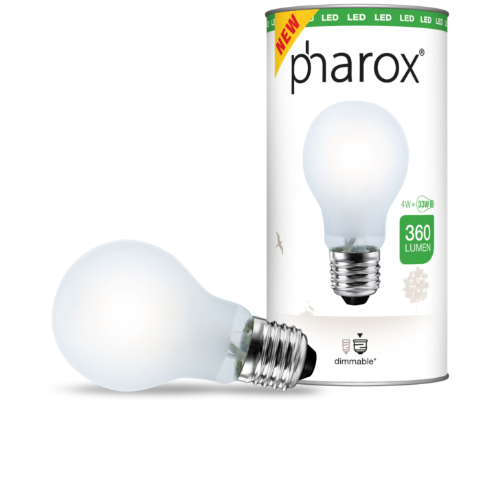 Pharox-LED-lamp-mat-E27-4W-360-lumen
