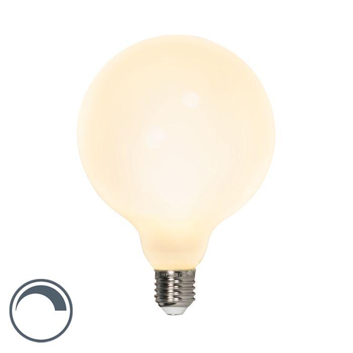 E27-dimbare-LED-G125-globelamp-8W-900lm-2700-K