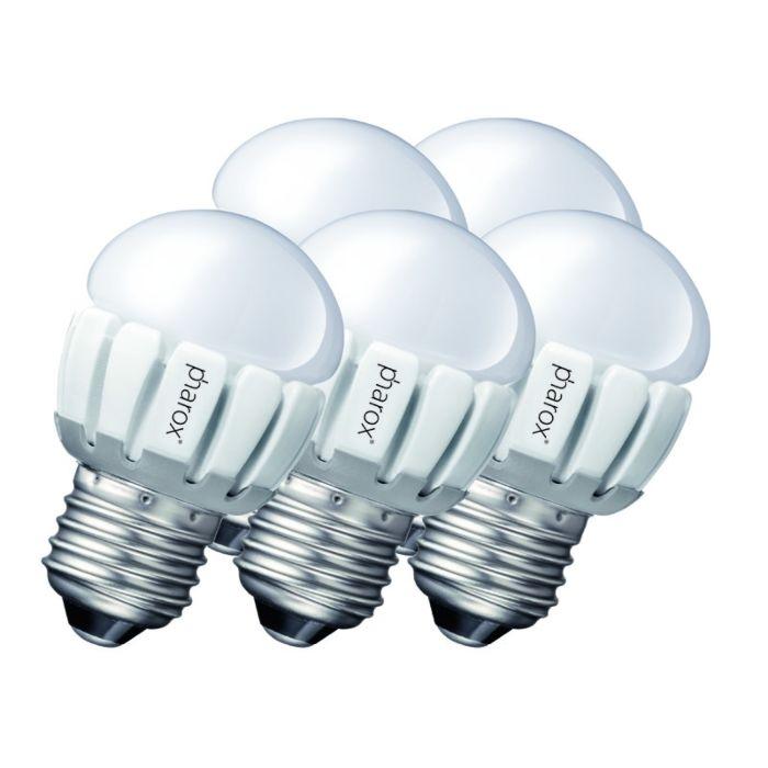 Set-van-5-Pharox-LED-200-P45-E27-5W-230V
