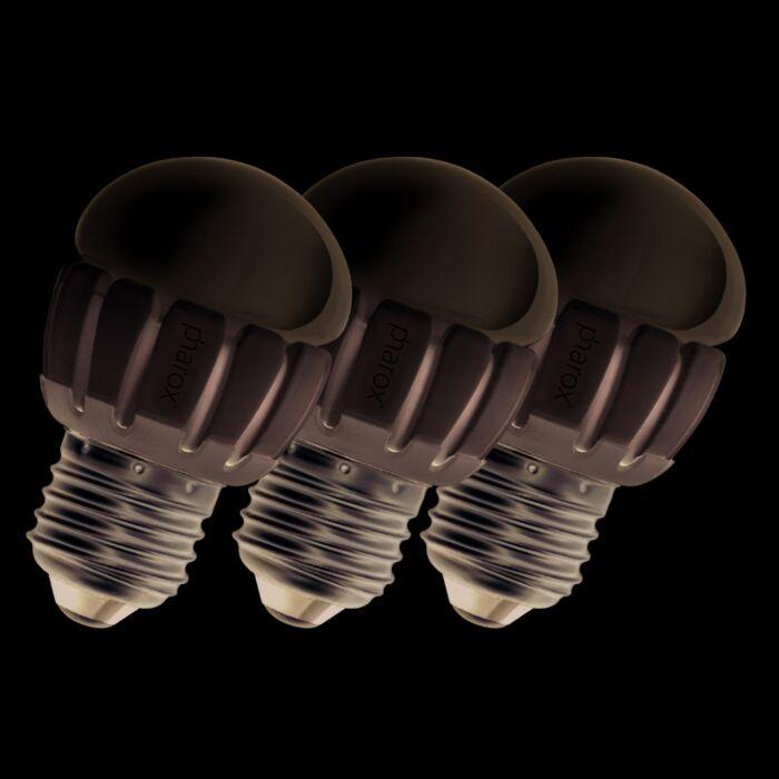 Set-van-3-Pharox-LED-200-P45-E27-5W-230V
