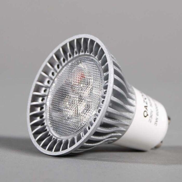 High-Power-GU10-LED---3-x-1W-=-ca.-35W-lichtopbrengst-6000K