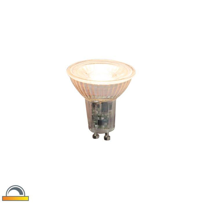 GU10-dimbare-LED-lamp-5,5W-360lm-2000K---2700K