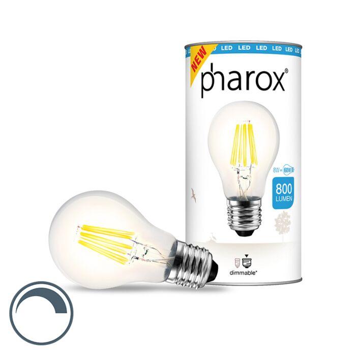 Pharox-LED-lamp-helder-E27-8W-800-lumen