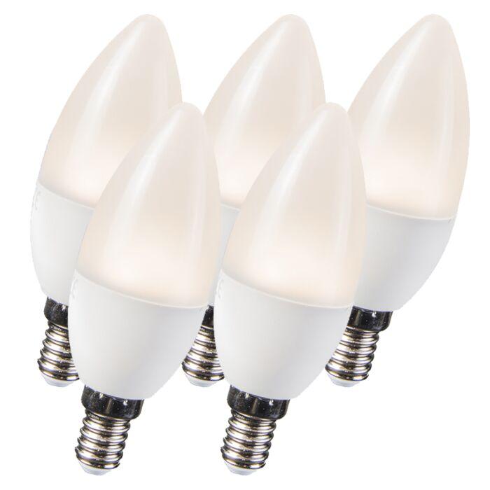 Set-van-5-LED-lampen-3.5W-E14-C30