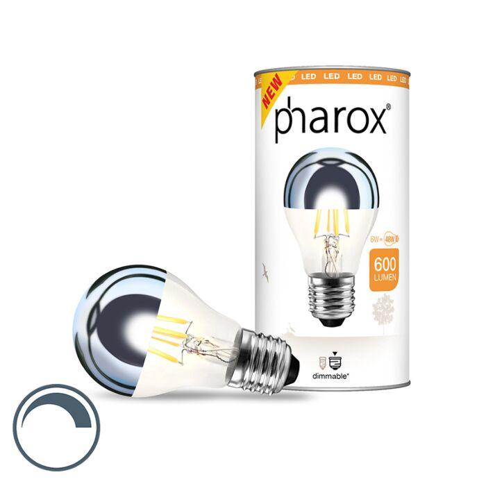 E27-dimbare-LED-lamp-kopspiegel-Pharox-6W-600-lumen