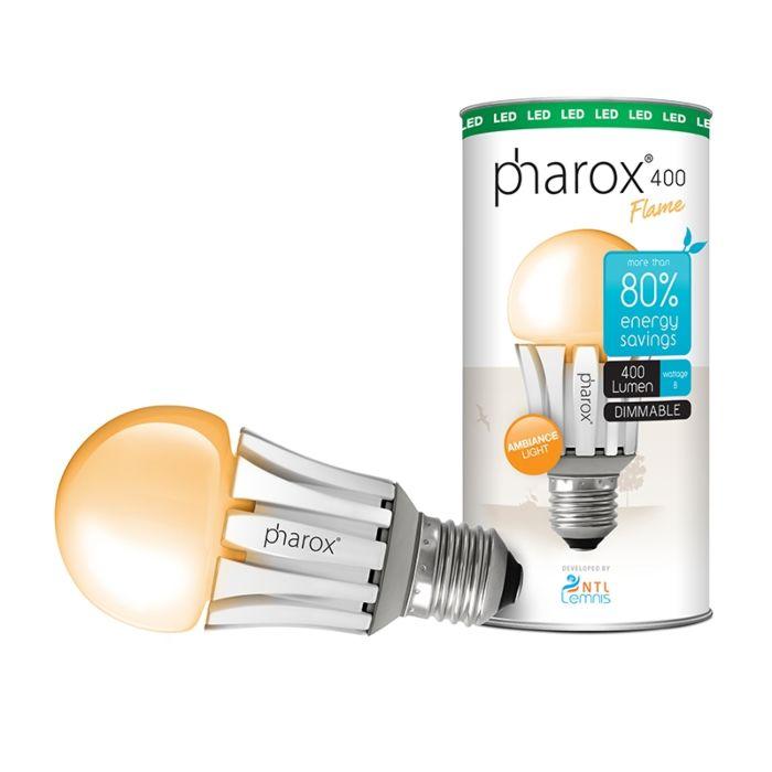 Pharox-LED-lamp-400-Flame-E27-8W