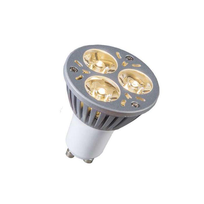 GU10-Power-LED-3-x-1W-warm-wit-DIMBAAR