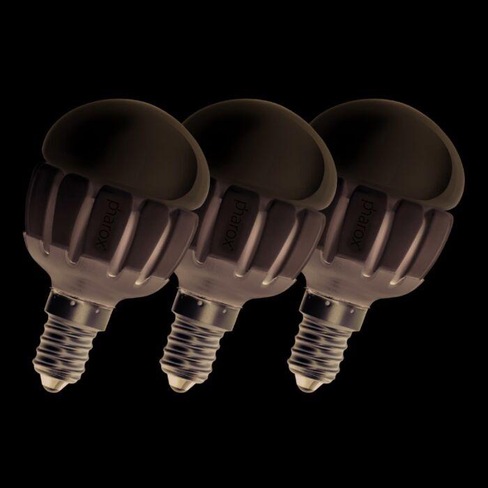 Set-van-3-Pharox-LED-200-P45-E14-5W-230V