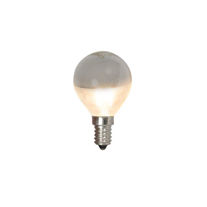 E14-LED-kogellamp-kopspiegel-4W-370lm-2700-K