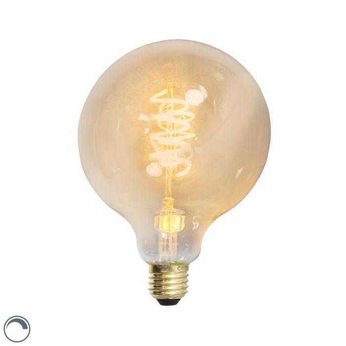 LED-gedraaide-filamentlamp-globe-E27-240V-4W-200lm-dimbaar
