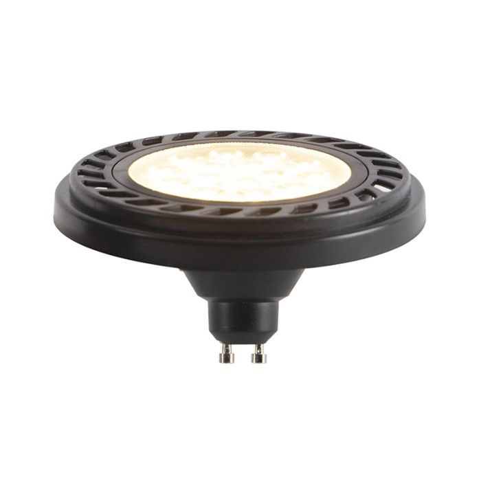 GU10-dimbare-LED-AR111-zwart-9W-900-lm-2700K