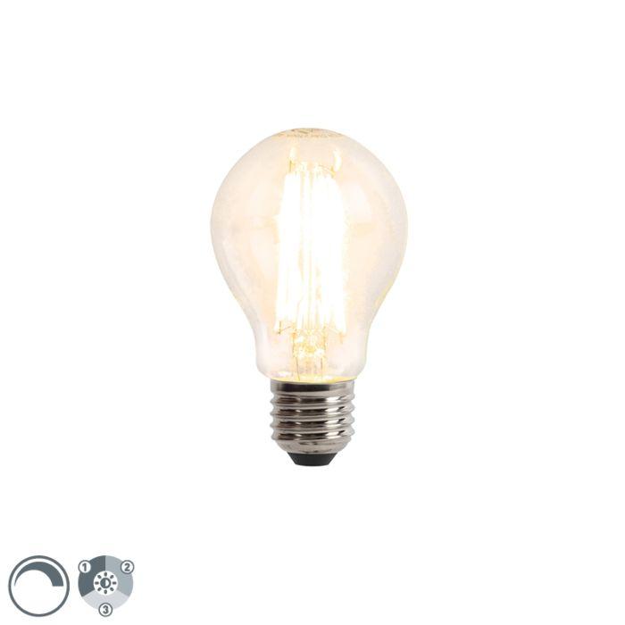 E27-3-staps-dimbare-LED-filamentlamp-6W-480-lm-2700K