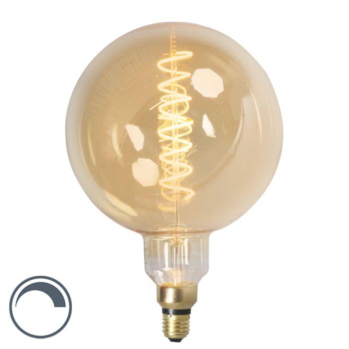 E27-dimbare-LED-filamentlamp-MEGA-globe-4W-200lm-2100-K