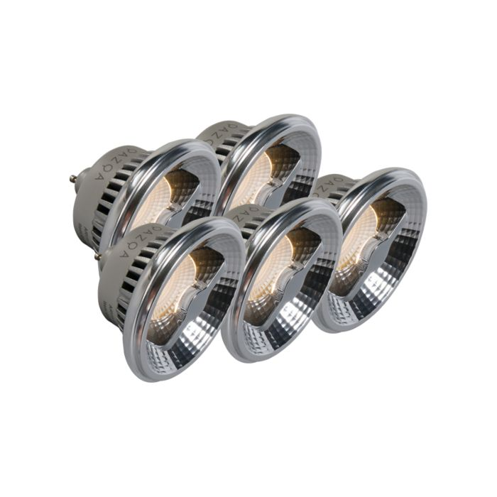 Set-van-5-GU10-AR111-LED-lamp-12W-240V-3000K-dimbaar