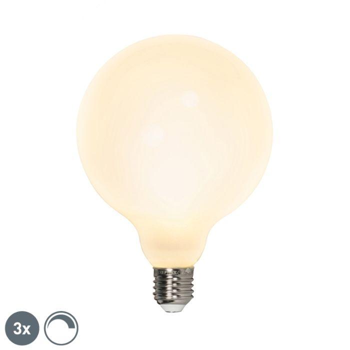 Set-van-3-LED-globelamp-E27-240V-8W-900lm-dimbaar