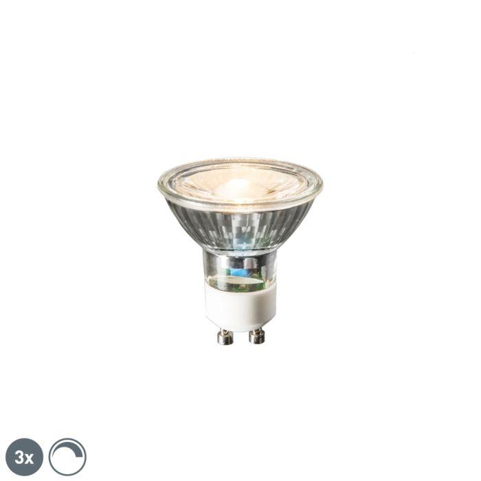 Set-van-3-GU10-LED-lampen-6W-450-lumen-2700K-dimbaar
