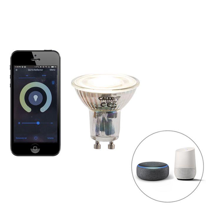 GU10-dimbare-LED-lamp-WiFi-Smart-met-app-5W-380-lm-2200-4000K