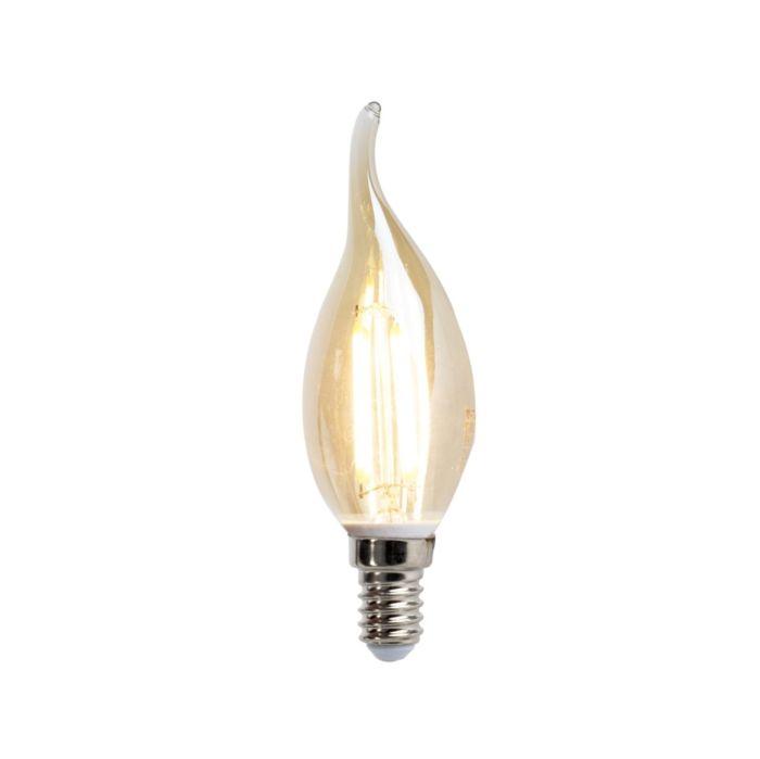 LED-filament-kaarslamp-E14-4W-350-lumen-warm-wit-2200K