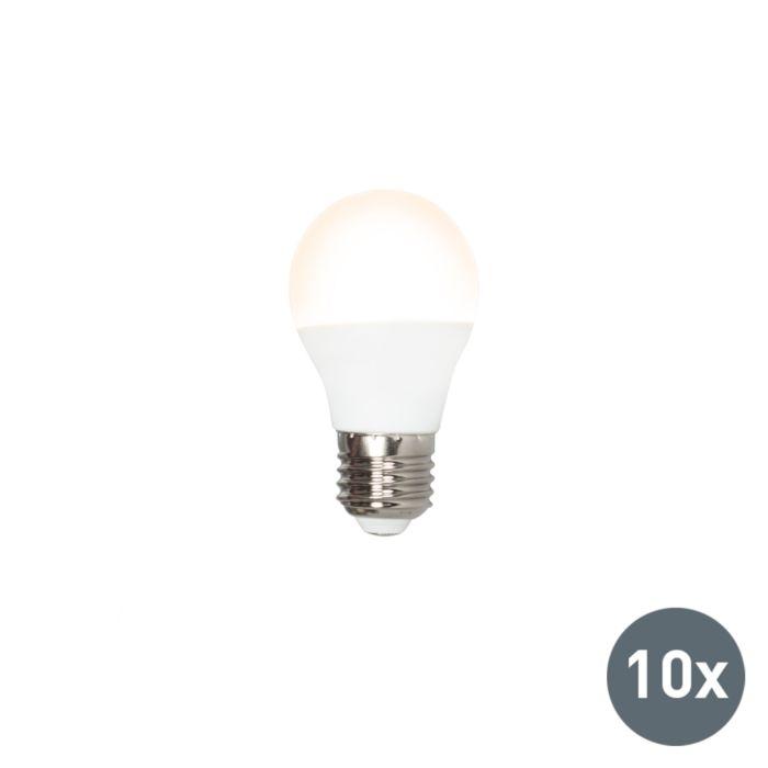 Set-van-10-LED-lamp-G45-E27-3W-3000K