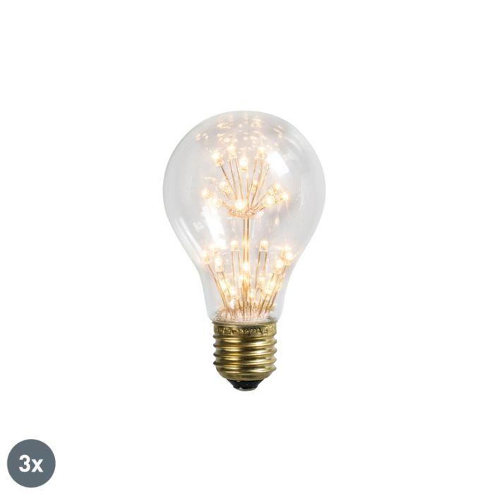 Set-van-3-LED-lamp-E27-1.4W/136LM