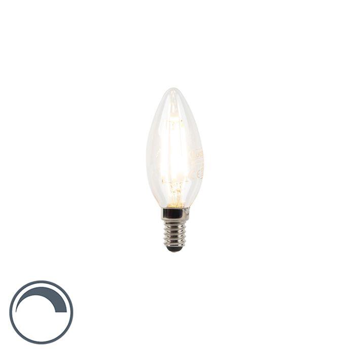 E14-dimbare-LED-filament-kaarslamp-3W-300-lm-2700K