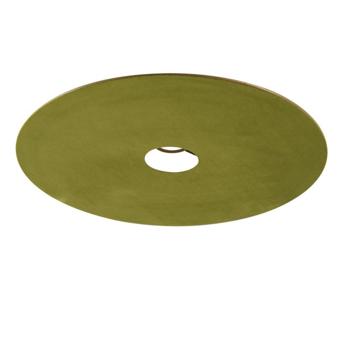 Velours-platte-lampenkap-groen-met-goud-45-cm