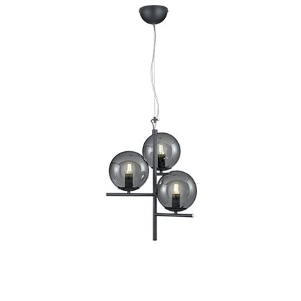 Art-deco-hanglamp-zwart-met-smoke-glas-3-lichts---Flore