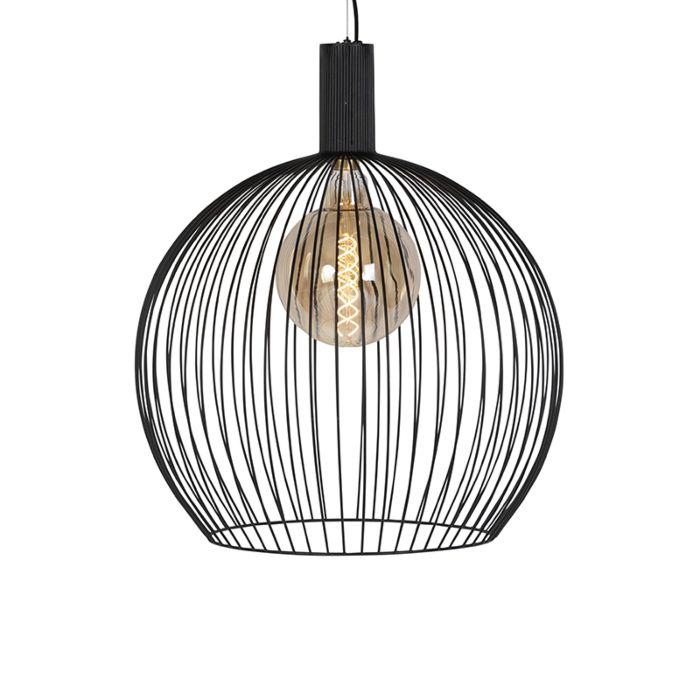 Design-hanglamp-zwart-60-cm---Wire-Dos
