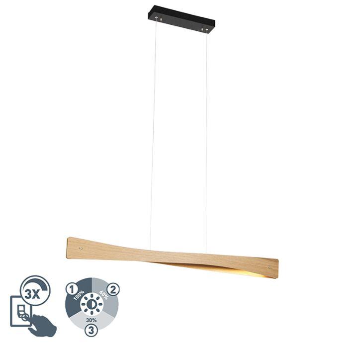 Landelijke-hanglamp-hout-incl.-LED-3-staps-dimbaar---Sjaak