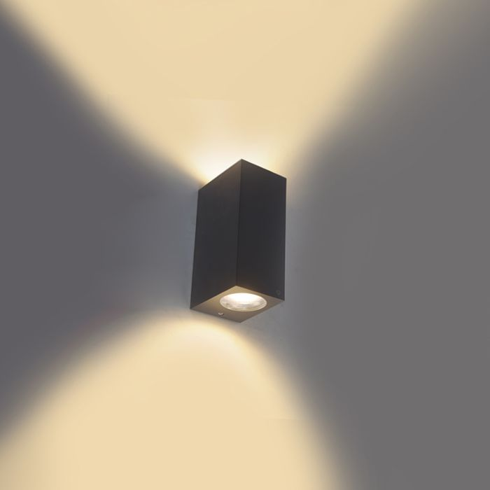 Moderne-wandlamp-grijs-IP44---Baleno-II