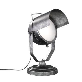 Industriële-tafellamp-zilver-verstelbaar---Cinema