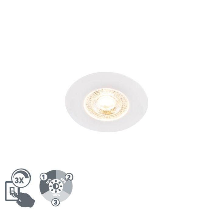 Inbouwspot-wit-incl.-LED-3-staps-dimbaar---Ulo