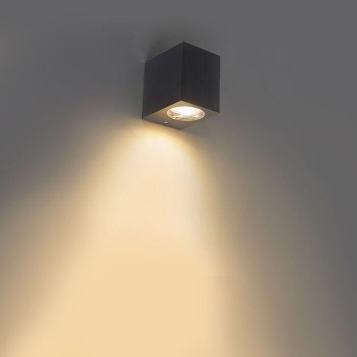 Moderne-buiten-wandlamp-grijs-IP44---Baleno-I
