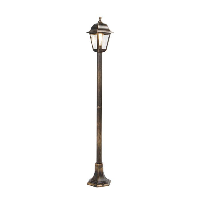 Klassiek-lantaarn-antiek-goud-122-cm-IP44---Capital