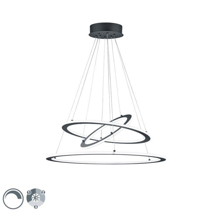 Design-hanglamp-grijs-incl.-LED-3-staps-dimbaar--Tijn