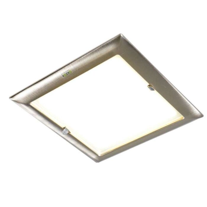 Inbouwspot-Doblo-vierkant-staal
