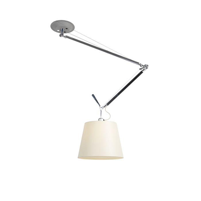 Design-hanglamp-met-kap---Artemide-Tolomeo-Sospensione-Decentrata