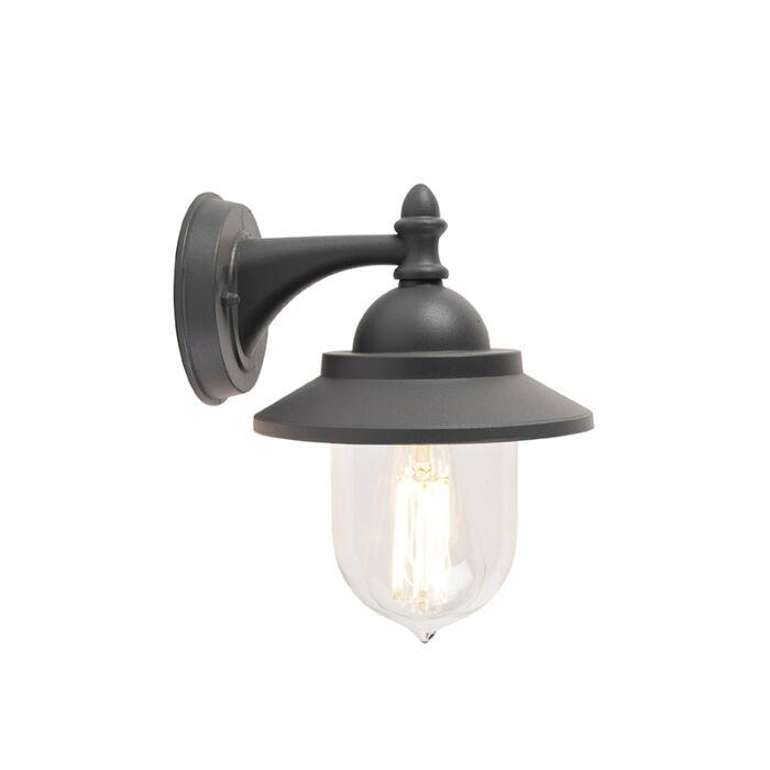 Romantische-buitenwandlamp-donker-grijs---Oxford