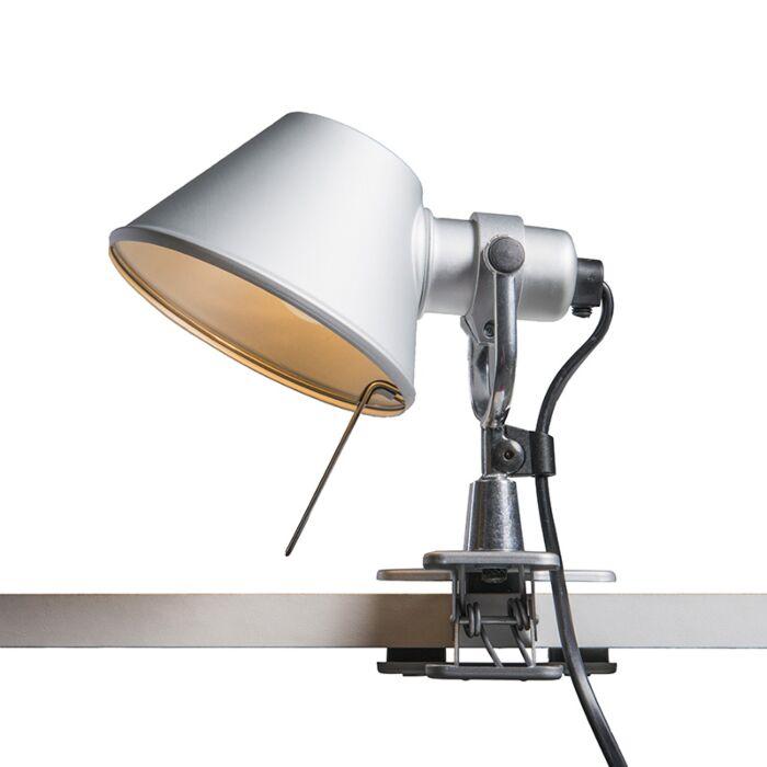 Artemide-tafellamp-verstelbaar---Artemide-Tolomeo-micro-pinza