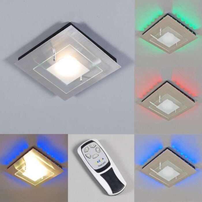 Plafonniere-Plate-GX-RGB-LED-staal