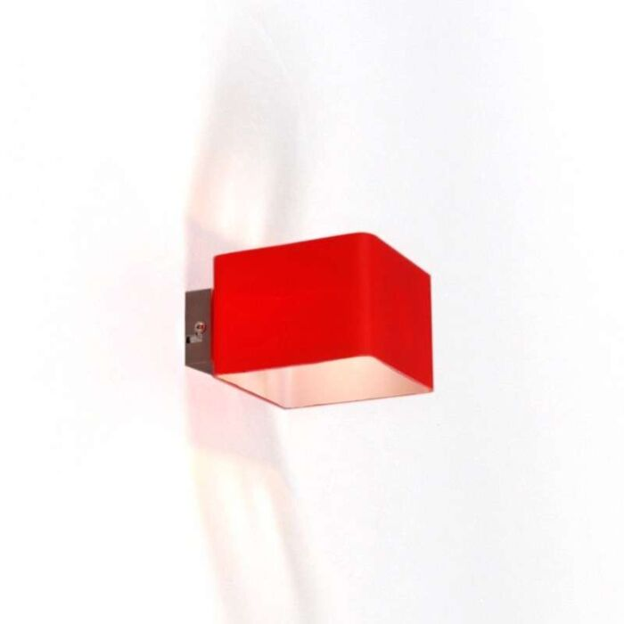 Wandlamp-Nova-Rood