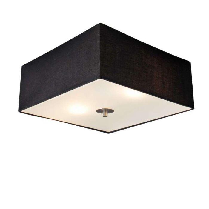 Plafonniere-Drum-35-vierkant-zwart