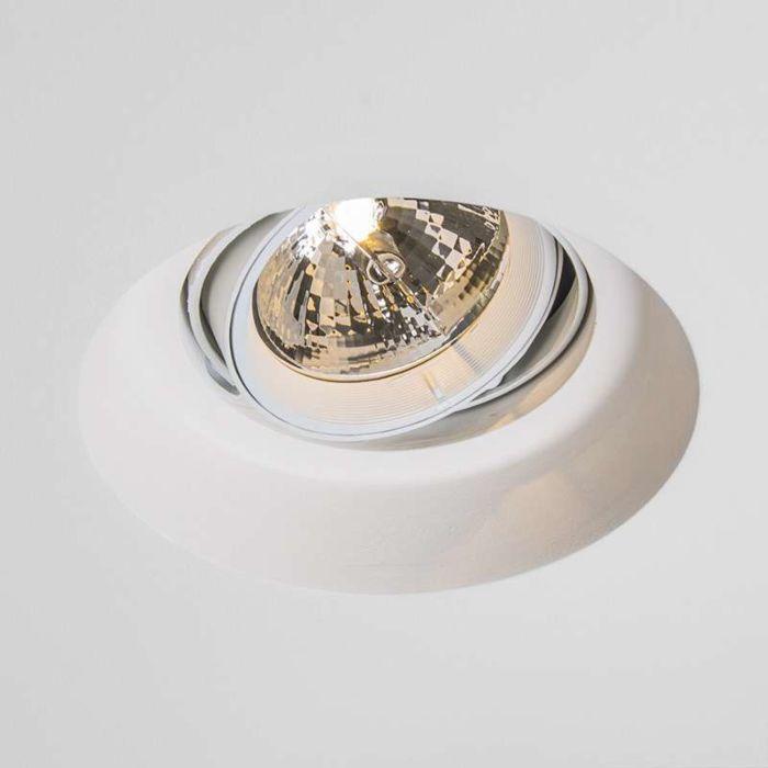 Inbouwspot-Gipsy-Zero-round-I-G53-AR111