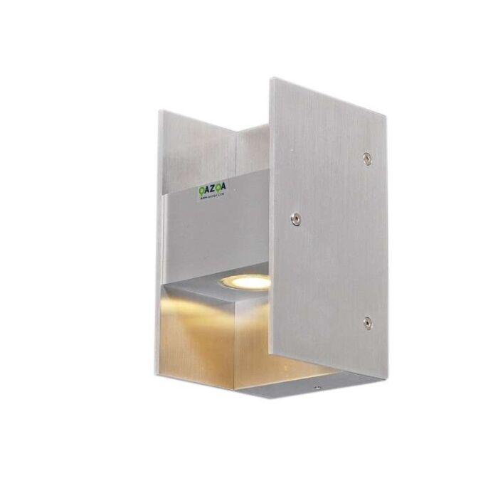 Wandlamp-Luna-II-aluminium-LED-IP54
